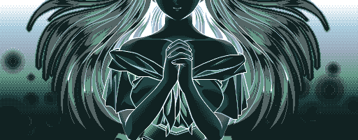 """""""The image of a woman, hands clasped as if in prayer, flashes in our sight."""""""